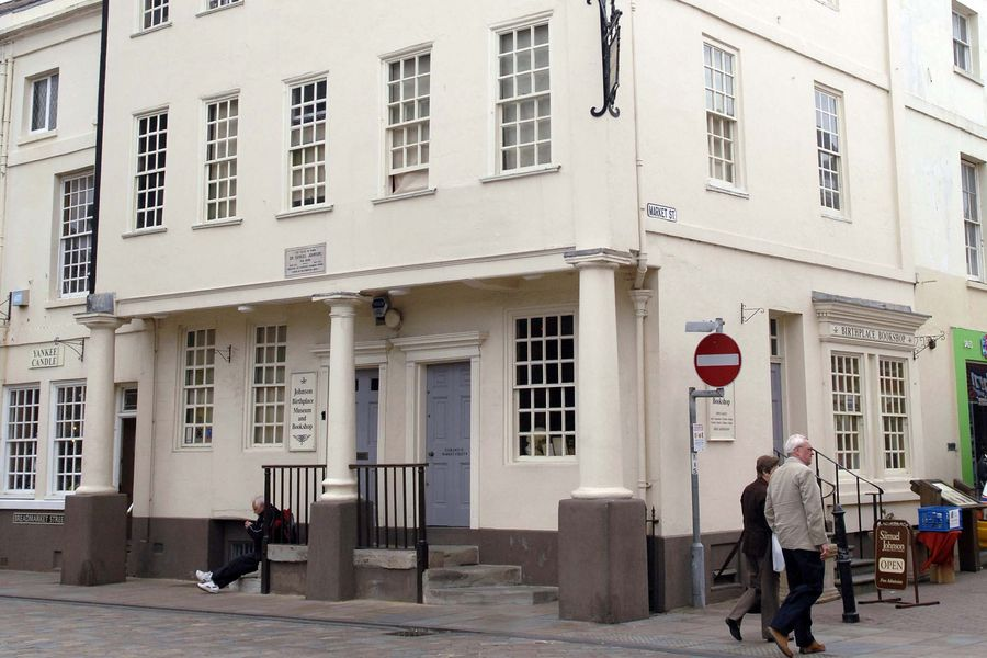 The Samuel Johnson Birthplace Museum.