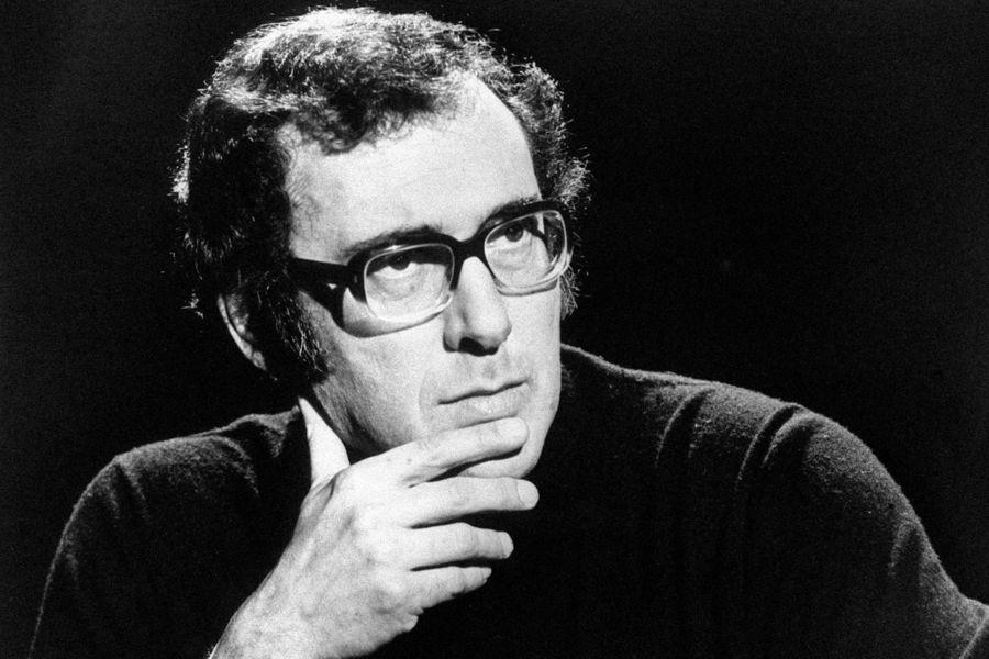 Playwright Harold Pinter.