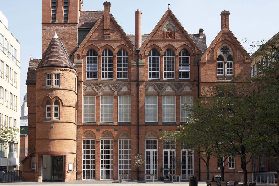 General exterior image of the Ikon gallery.