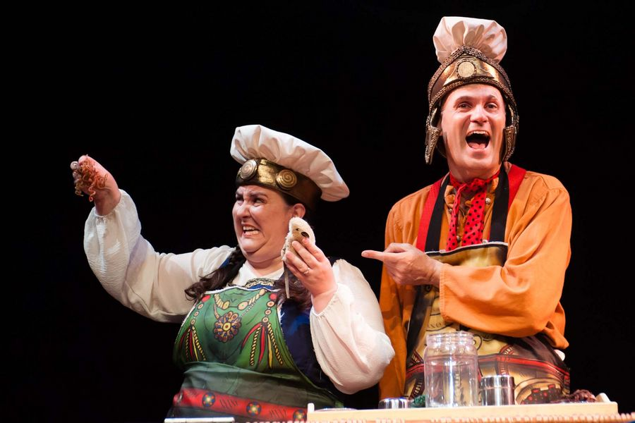 Horrible Histories Live On Stage - More Best Of Barmy Britain.