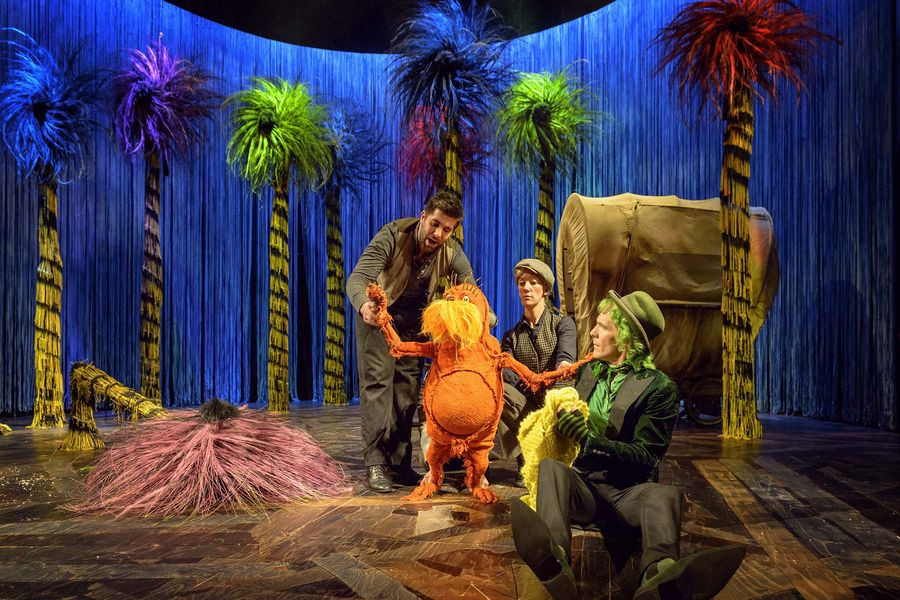 Dr Seuss' The Lorax.