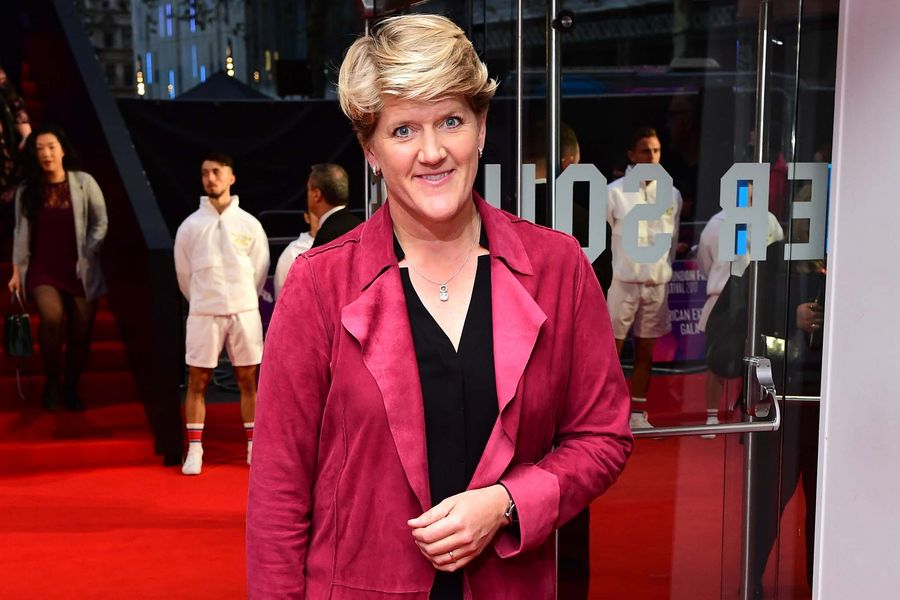 Clare Balding attending the premiere of Battle of the Sexes held at Odeon Leicester Square, London. Picture date: Saturday October 7th, 2017. Photo credit should read: Ian West/PA Wire