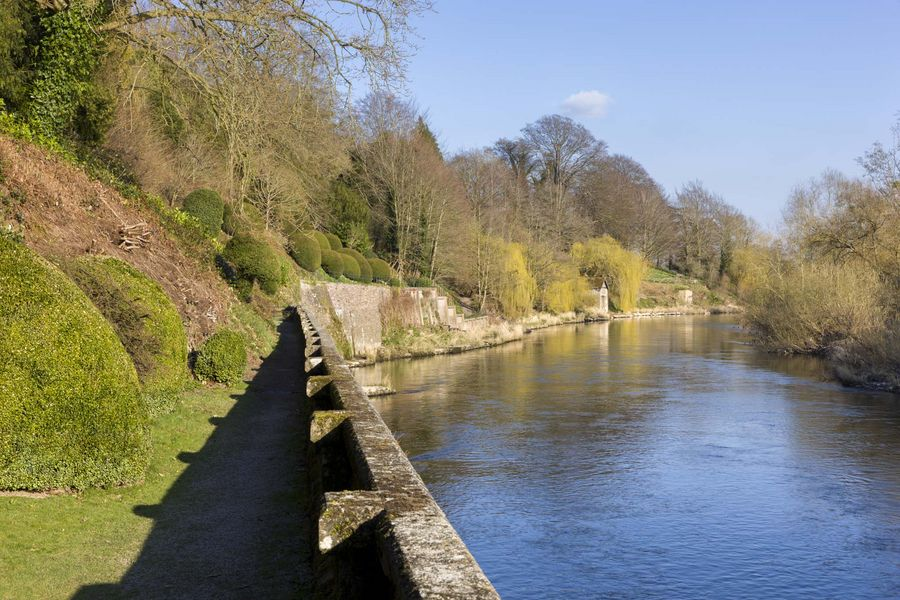 The Garden and River Wye